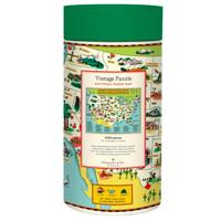 Cavallini NATIONAL PARKS MAP (1000 pieces)