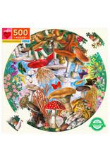 eeBoo MUSHROOMS & BUTTERFLIES (500 pieces)