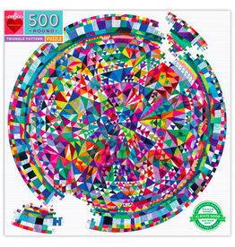 eeBoo Puzzle: TRIANGLE PATTERN  (500 pieces)