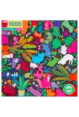 eeBoo CATS AT WORK (1000 pieces)