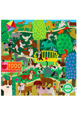 eeBoo DOGS IN THE PARK (1000 pieces)