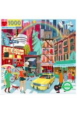 eeBoo NEW YORK CITY LIFE (1000 pieces)