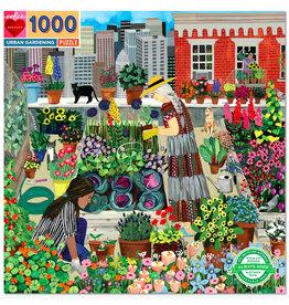 eeBoo Puzzle: URBAN GARDENING (1000 pieces)
