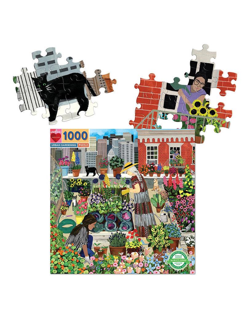 eeBoo URBAN GARDENING (1000 pieces)