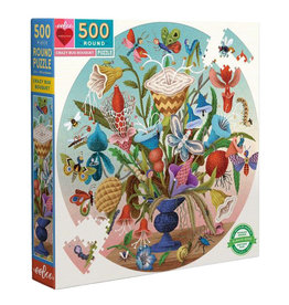 eeBoo Puzzle: CRAZY BUG BOUQUET (500 pieces)