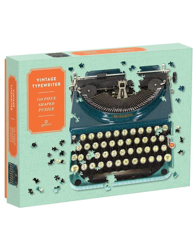 Galison TYPEWRITER Shaped (750 pieces)