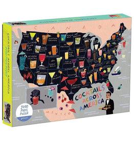 Galison Puzzle: COCKTAIL MAP (1000)