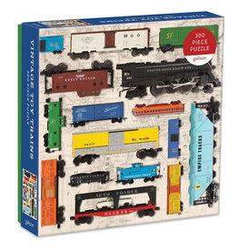 Galison Puzzle: VINTAGE TOY TRAINS (300 pieces)