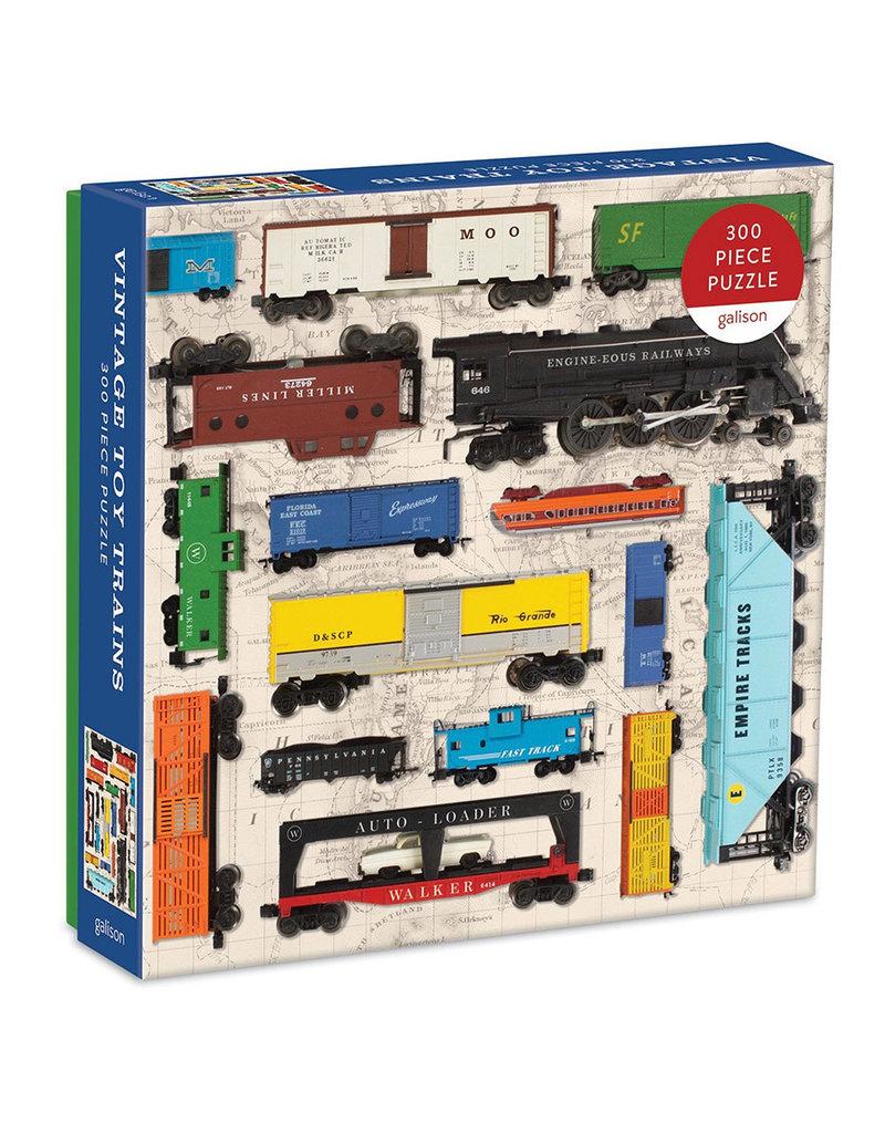 Galison VINTAGE TOY TRAINS (300 pieces)