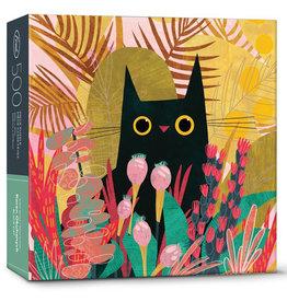 Fred & Friends Puzzle: BLACK CAT (500 pieces)