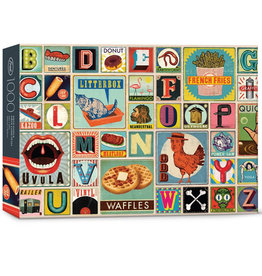 Fred & Friends Puzzle: XYZ BLOCKS (1000 pieces)