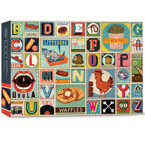 Puzzle: XYZ BLOCKS (1000 pieces)