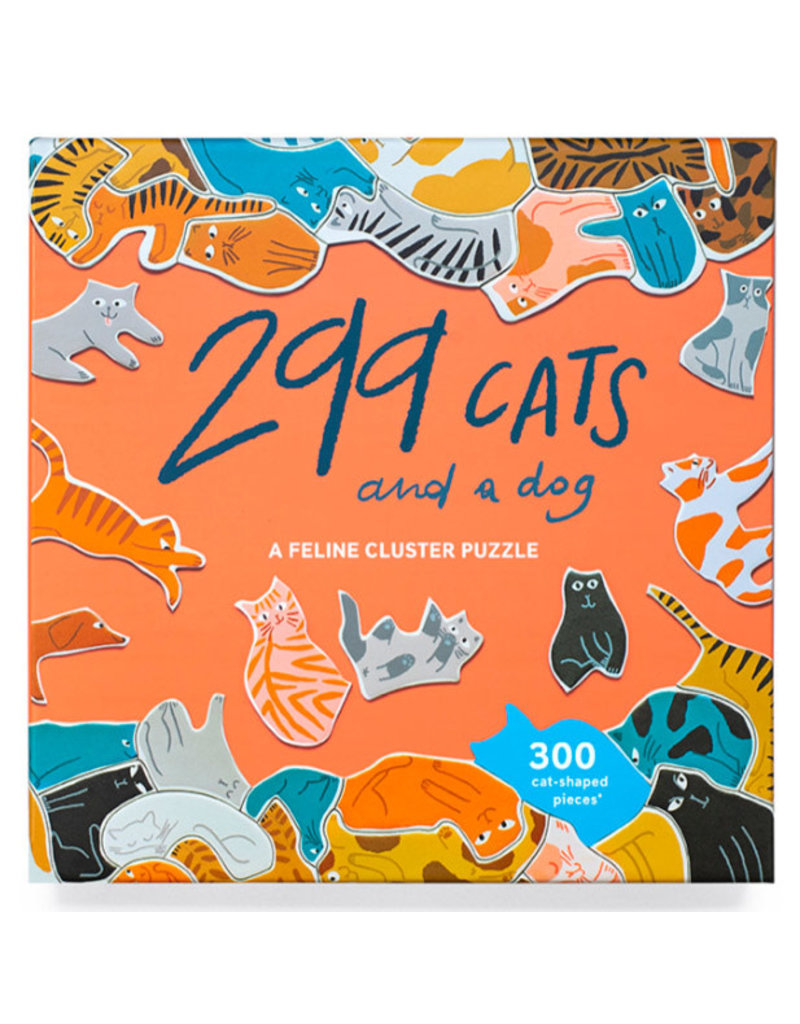 299 CATS and a dog (300 pieces)