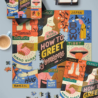 Fred & Friends HOW TO GREET SOMEONE (500 pieces)