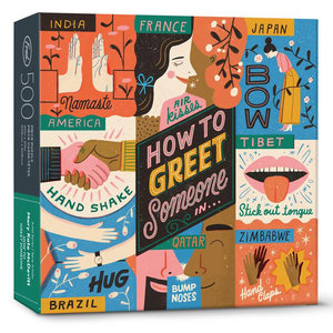 Puzzle: HOW TO GREET SOMEONE (500 pieces)