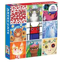 Mudpuppy ARTSY CATS (500 pieces)