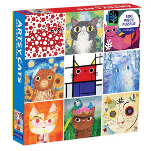 Puzzle: ARTSY CATS (500 pieces)
