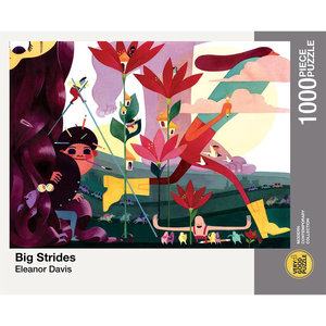 Puzzle: BIG STRIDES (1000 pieces)