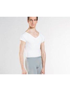 Wear Moi HAXO Men's White V Neck Shirt
