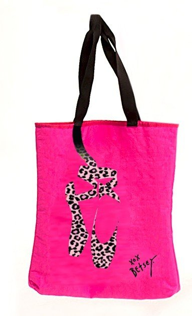 CAPEZIO Betsey Johnson Hot Pink Tote