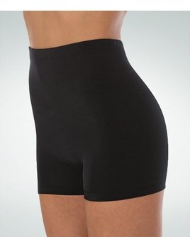Body Wrappers Hi Waist Boy Shorts for Women