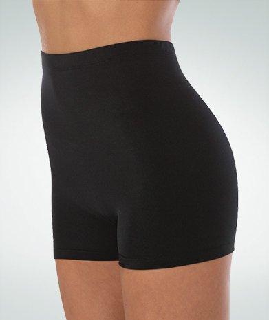 Body Wrappers Hi Waist Boy Shorts for Women