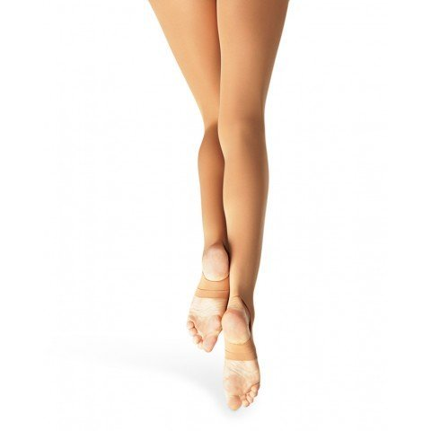 Capezio Self Knit Waist Stirrup Tights for Women