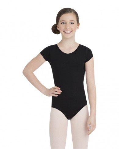Capezio Girl's Short Sleeve Leotard