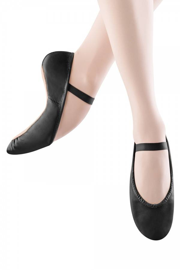 Girl Full Sole Leather Ballet Shoe