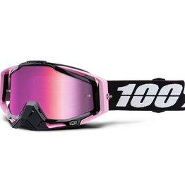 100% Racecraft Goggle Floyd / Mirror Pink Lens