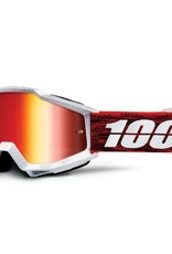 100% 100% Accuri Goggle Graham/Mirror Red Lens