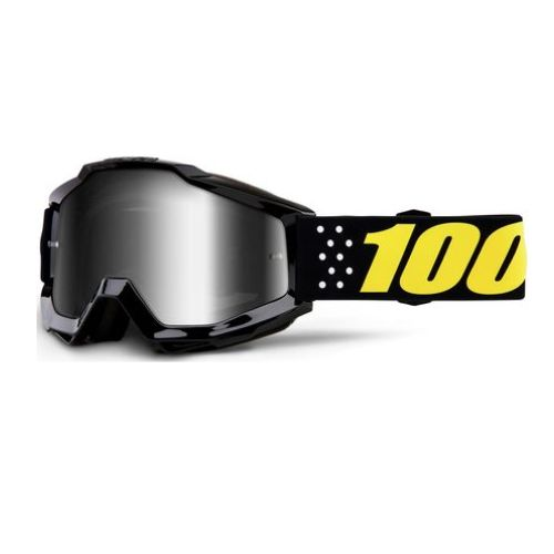 100% 100% Accuri Youth Goggle Pistol Mirror Silver Lens