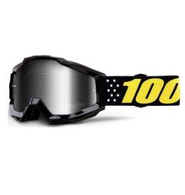 100% 100% Accuri Youth Goggle Pistol Mirror Silver Lens