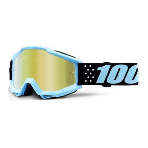 100% 100% Accuri Youth Goggle Taichi Mirror Gold Lens