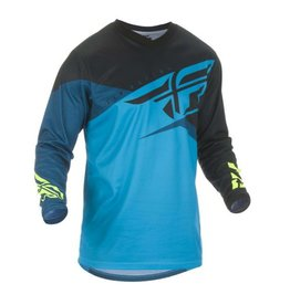 Fly Racing 2019 F-16 Jersey Blue/Black/Hi-vis