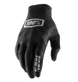 100% 100% Celium 2 Glove Black/Silver