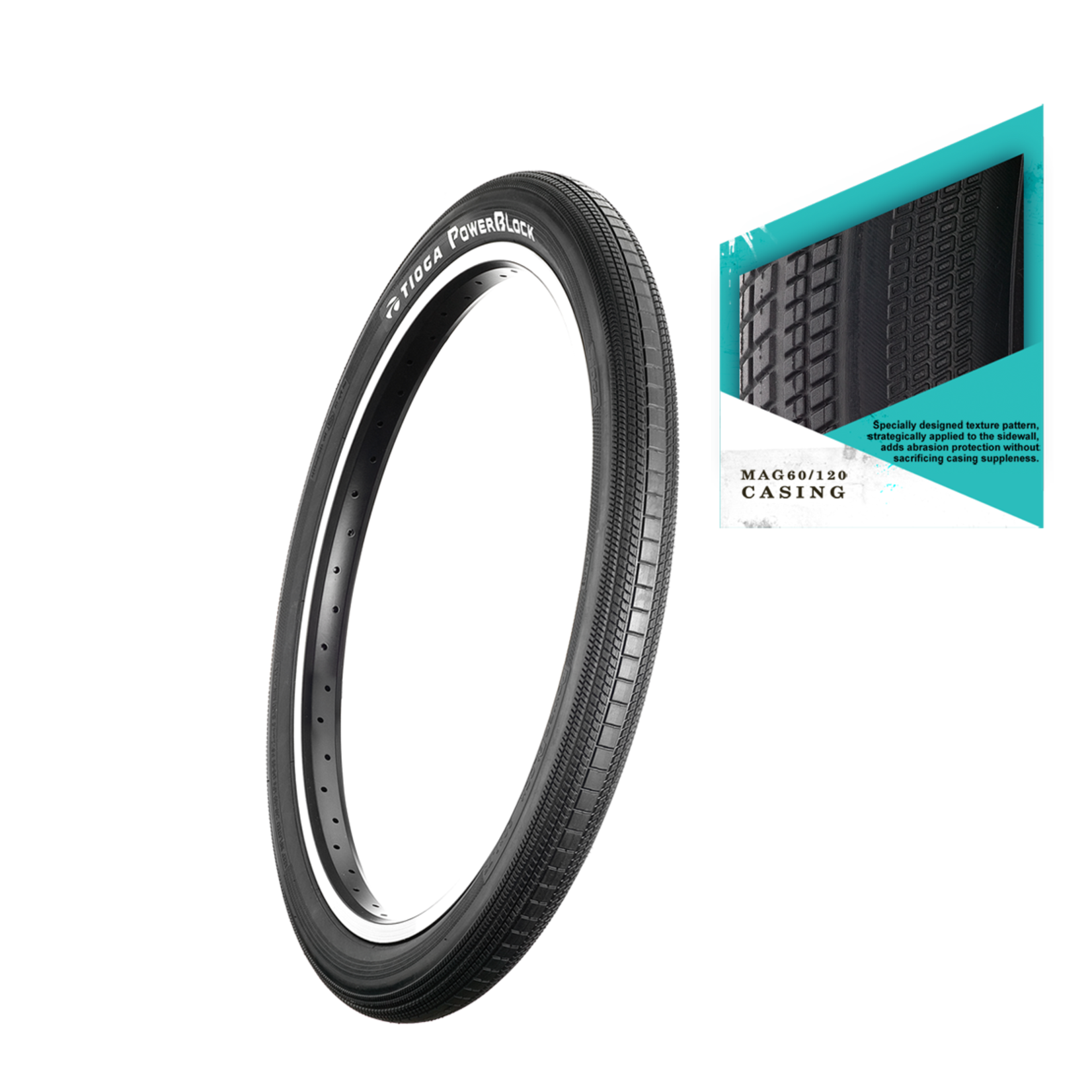 Tioga Tioga Tires RP Powerblock Wire Black
