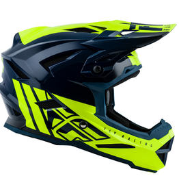 Fly Racing 2019 Fly Default Helmet Teal/Hi-vis