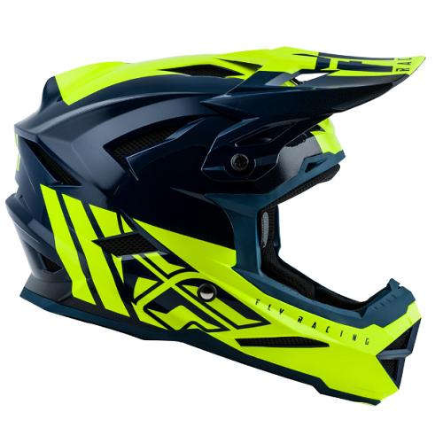 Fly Racing 2019 Fly Default Helmet Teal/Hi-vis