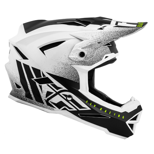 Fly Racing 2019 Fly Default Matte White/Black