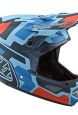 Troy Lee Designs Troy Lee D3 Fiberlite Speedcode Blue/Black