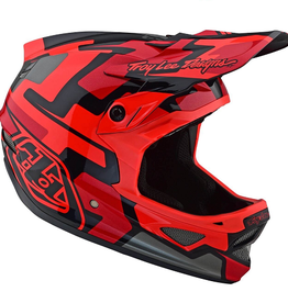 Troy Lee Designs Troy Lee D3 Fiberlite Speedcode Red