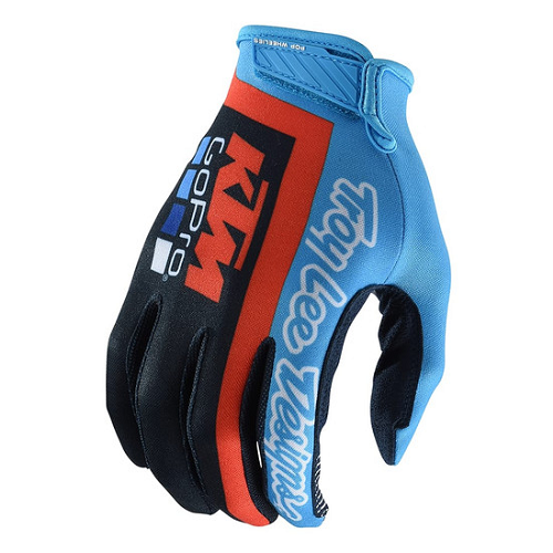 Troy Lee Designs Troy Lee KTM Team Air Glove Navy/Cyan