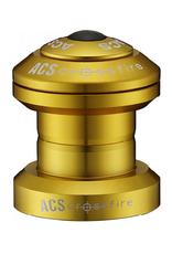 ACS ACS Crossfire External Cup Headset  Threadless  Gold 1''