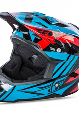 Fly Racing 2017 Fly Default Helmet Teal/Red