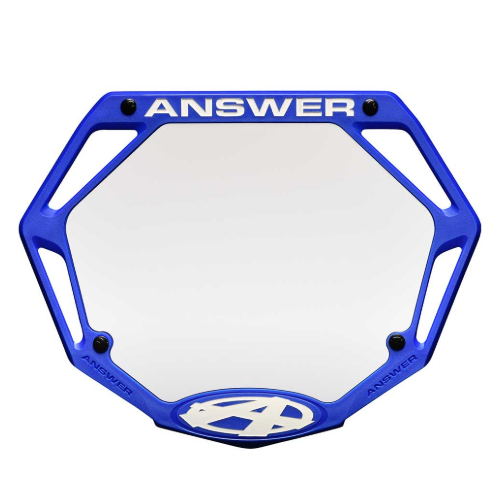 Answer BMX Answer 3D Number Plate