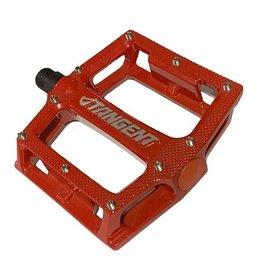 Tangent Platform Pedals Red
