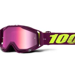 100% Racecraft Goggle Klepto/ Mirror Pink Lens