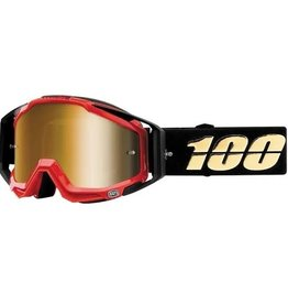 100% 100% Racecraft Goggle Hot Rod Mirror True Gold Lens
