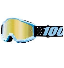 100% 100% Accuri Goggle Taichi/Mirror Gold Lens
